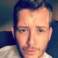 beau gosse taxi yeux bleus gay